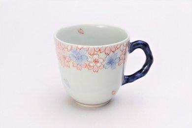 そうた窯 染錦渕桜 マグカップ