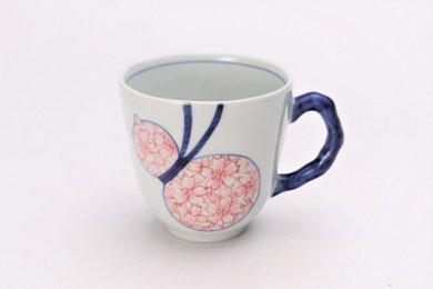そうた窯 染付瓢桜 マグカップ