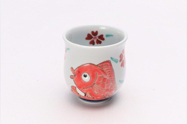 徳七窯 桜鯛 組湯呑 画像サブ11