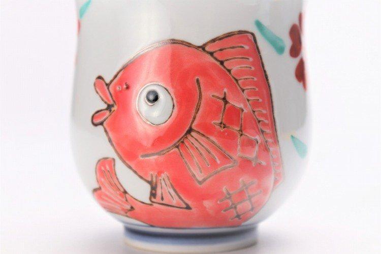 徳七窯 桜鯛 組湯呑 画像サブ15
