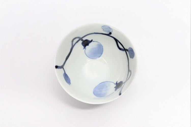 皓洋窯 染付なす ほっこり飯碗 ペア 画像サブ11
