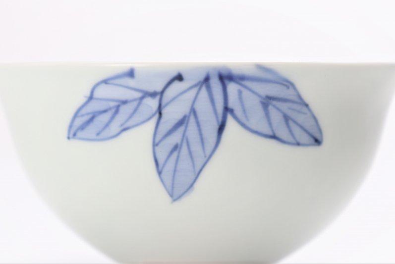 皓洋窯 染付ざくろ ほっこり飯碗(小) 画像サブ2