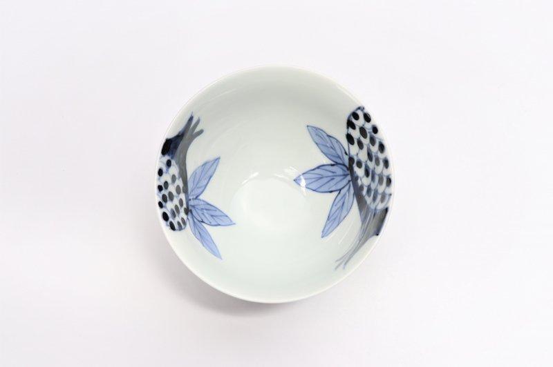皓洋窯 染付ざくろ ほっこり飯碗(小) 画像サブ3