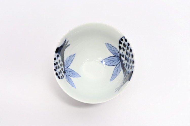 皓洋窯 染付ざくろ ほっこり飯碗 ペア 画像サブ9