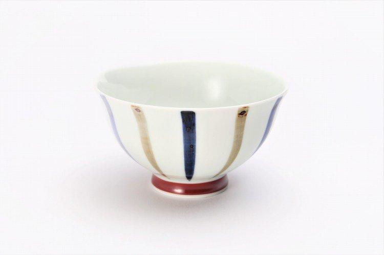 皓洋窯 染付二色サビ十草 ほっこり飯碗 ペア 画像サブ7