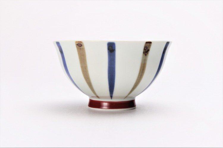 皓洋窯 染付二色サビ十草 ほっこり飯碗 ペア 画像サブ8