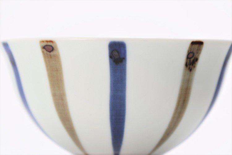 皓洋窯 染付二色サビ十草 ほっこり飯碗 ペア 画像サブ9