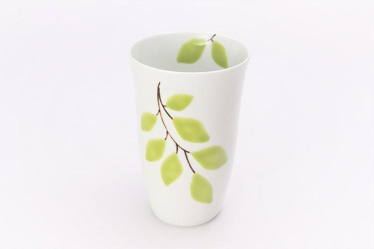 楽々シリーズ 木もれ日(緑) フリーカップ (化粧箱入り) 在庫8個 画像メイン