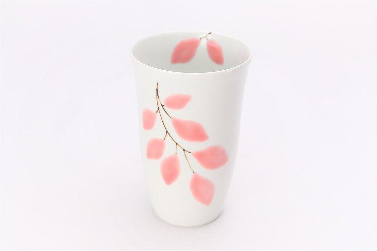 楽々シリーズ 木もれ日(ピンク) フリーカップ (化粧箱入り) 在庫7個 画像メイン