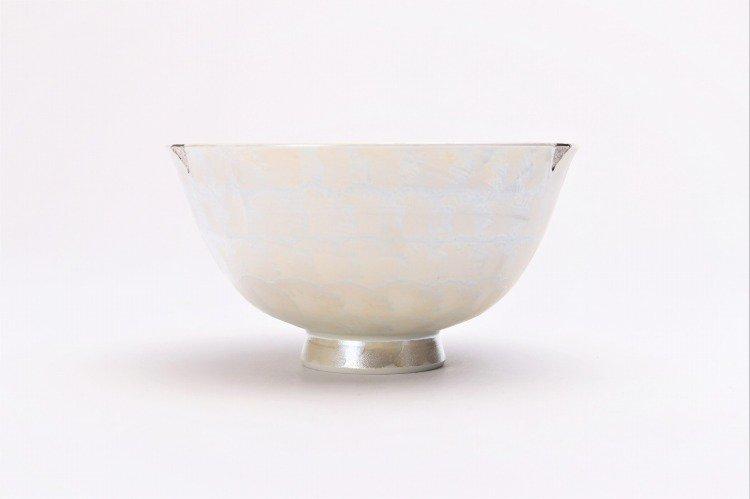 楽々シリーズ ラスターゴールド・シルバー ペア茶碗 (化粧箱入り) 画像サブ10