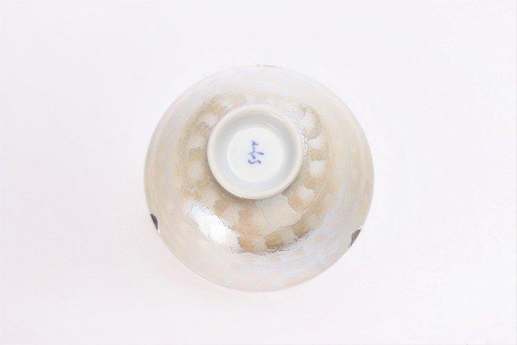楽々シリーズ ラスターゴールド・シルバー ペア茶碗 (化粧箱入り) 画像サブ14