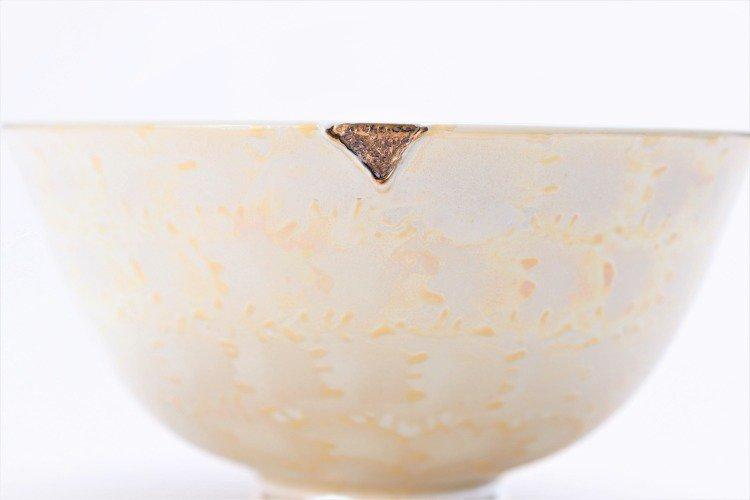 楽々シリーズ ラスターゴールド・シルバー ペア茶碗 (化粧箱入り) 画像サブ4