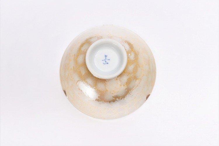 楽々シリーズ ラスターゴールド・シルバー ペア茶碗 (化粧箱入り) 画像サブ6