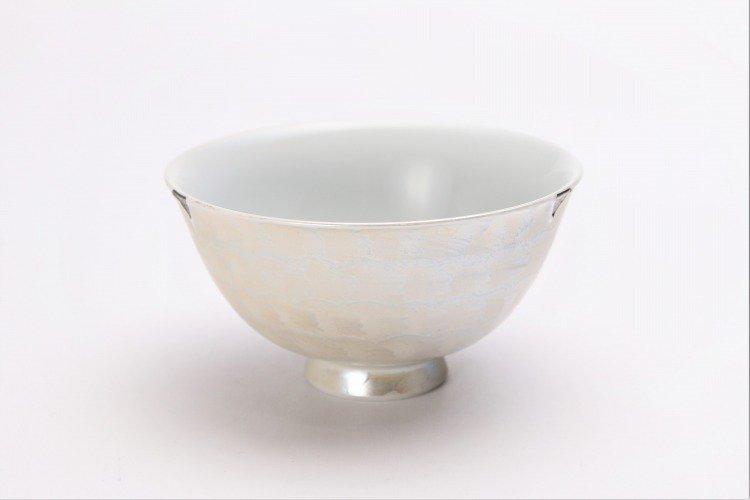 楽々シリーズ ラスターゴールド・シルバー ペア茶碗 (化粧箱入り) 画像サブ9