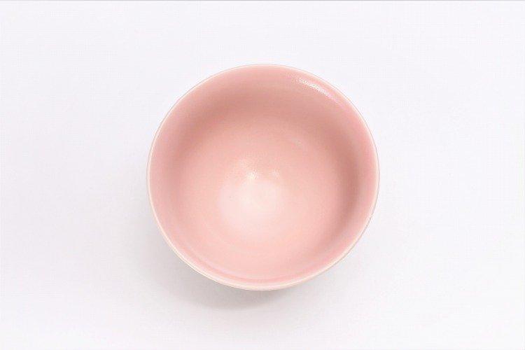楽々シリーズ 色しずく(内ブルー・ピンク) ペア茶碗 (化粧箱入り) 画像サブ10