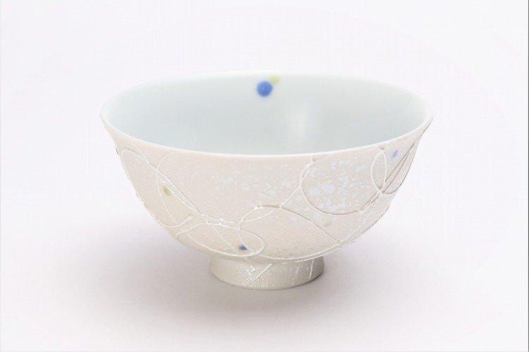 楽々シリーズ 色しずく ペア茶碗 (化粧箱入り) 画像サブ1