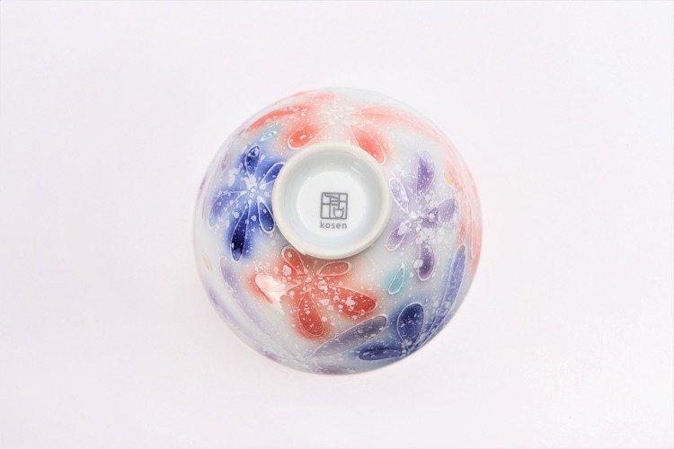 楽々シリーズ 四季花 ペア茶碗 (化粧箱入り) 画像サブ13