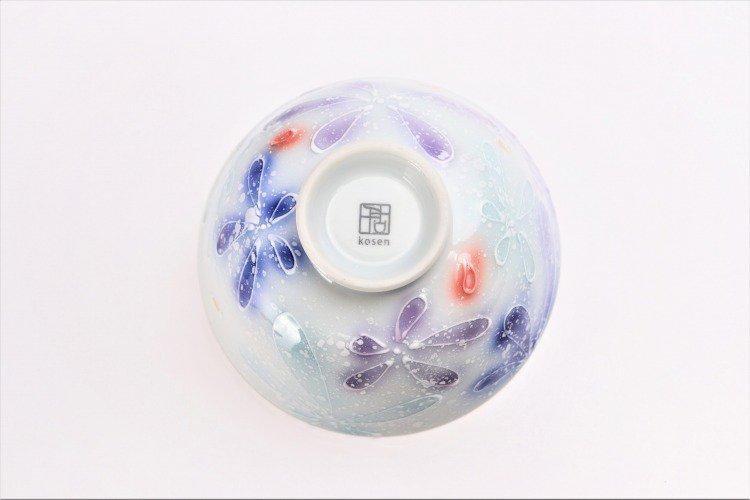 楽々シリーズ 四季花 ペア茶碗 (化粧箱入り) 画像サブ6