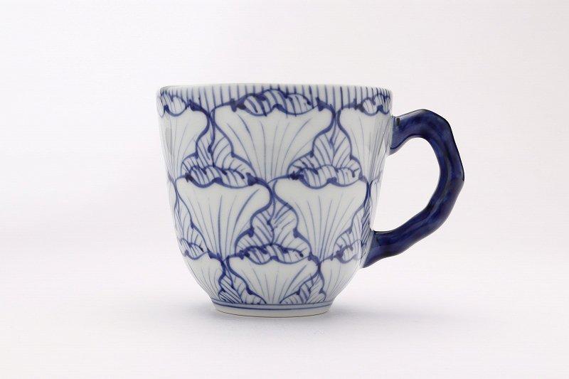 ☆そうた窯 染付花弁紋 ペアマグカップ 画像サブ3