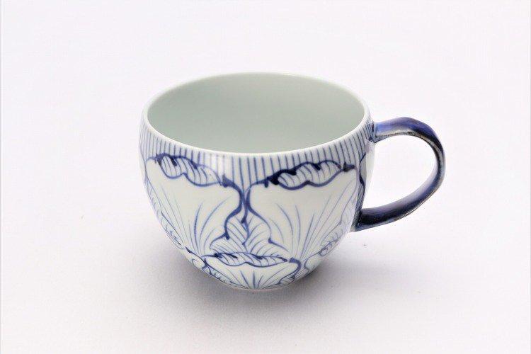☆そうた窯 染付花弁紋 ペア丸スープカップ 画像サブ1