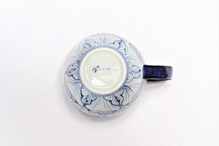 ☆そうた窯 染付花弁紋 ペア丸スープカップ 画像サブ4