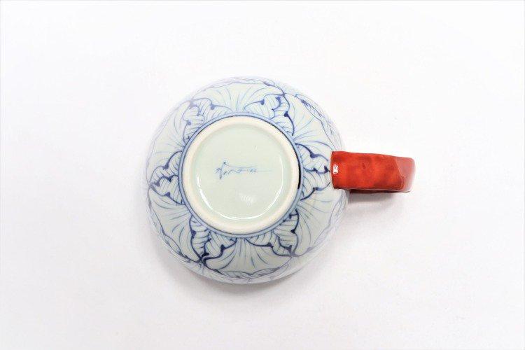 ☆そうた窯 染付花弁紋 ペア丸スープカップ 画像サブ8