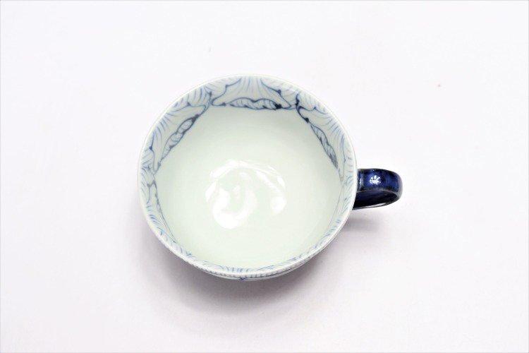 ☆そうた窯 染付花弁紋 ペアスープカップ 画像サブ3