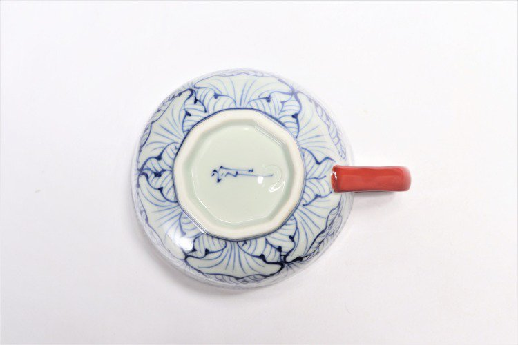 ☆そうた窯 染付花弁紋 ペアスープカップ 画像サブ8