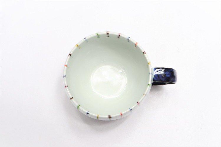 ☆そうた窯 染錦線十草 ペア丸スープカップ 画像サブ3