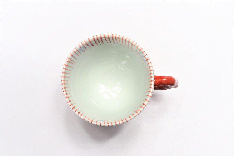 ☆そうた窯 染錦十草桜 ペアマグカップ 画像サブ9