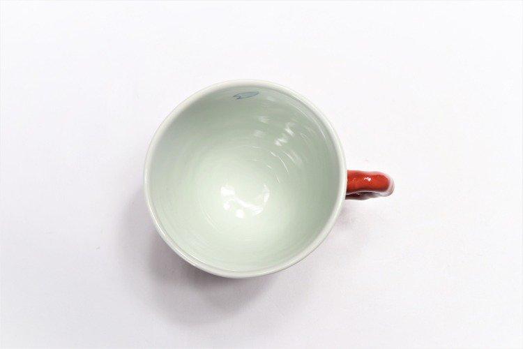 ☆そうた窯 染錦市松桜 ペアマグカップ 画像サブ11