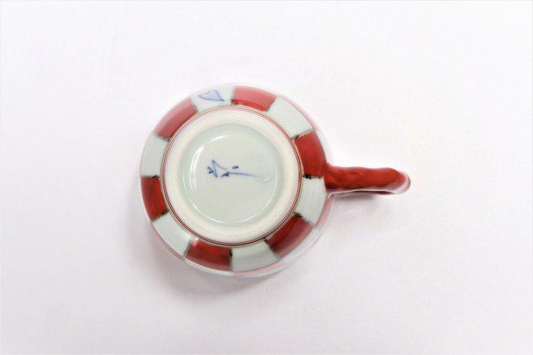 ☆そうた窯 染錦市松桜 ペアマグカップ 画像サブ12