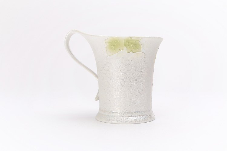 ☆文山窯 牡丹パールラスター 流転ペアマグカップ 画像サブ9