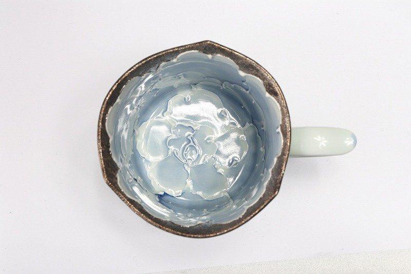 ☆文山窯 金牡丹・プラチナ牡丹 輪花ペアマグカップ 画像サブ6