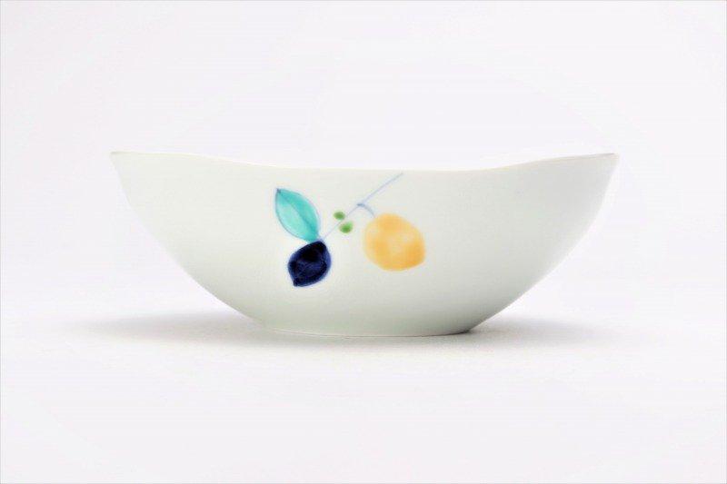 一峰窯 レモン 楕円浅小鉢 画像サブ2
