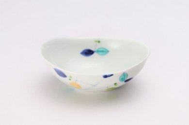 一峰窯 レモン 楕円小鉢