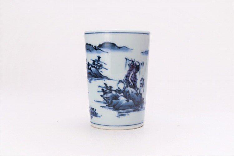 亮秀窯 古代山水フリーカップ 画像サブ1