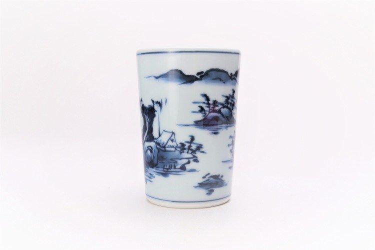 亮秀窯 古代山水フリーカップ 画像サブ2