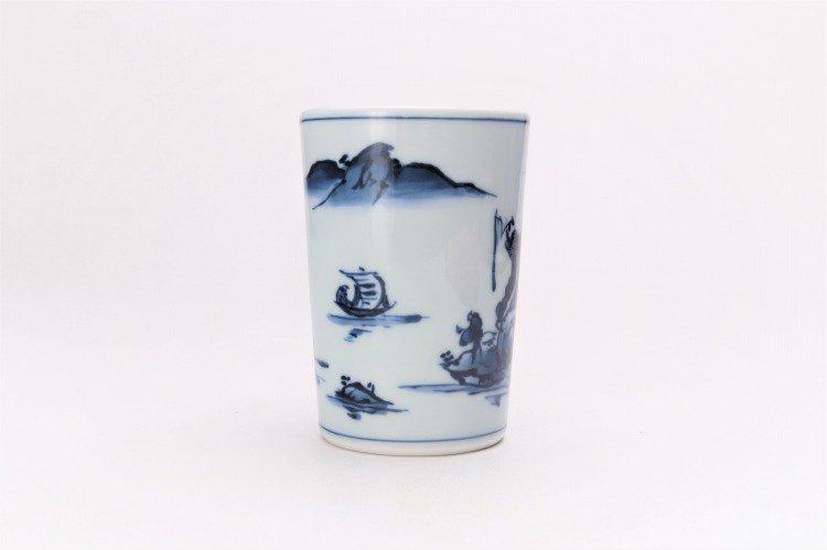 亮秀窯 古代山水フリーカップ 画像サブ3