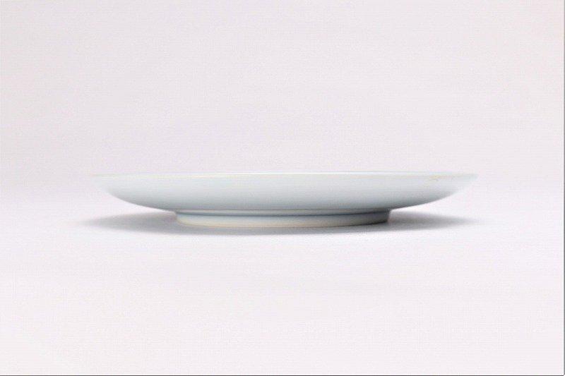 亮秀窯 ざくろ絵 底平碗皿 画像サブ4