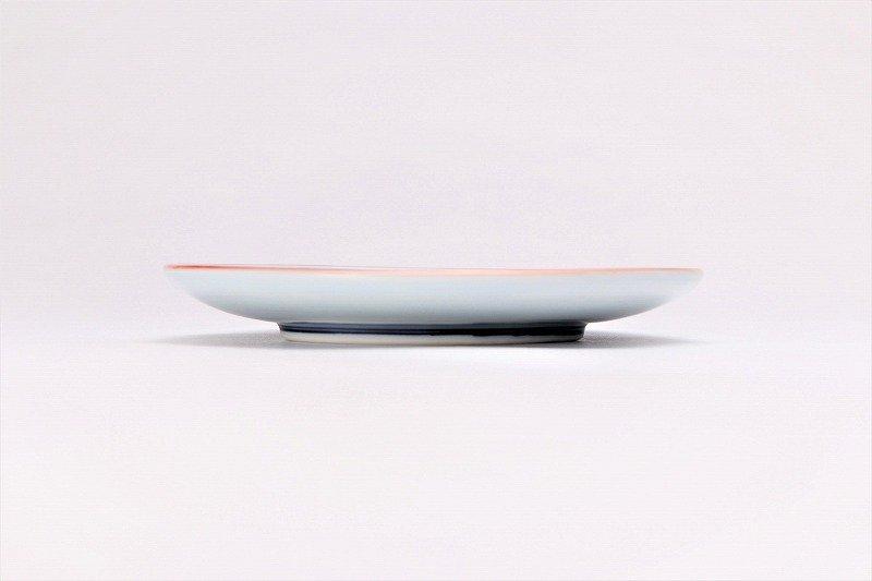 亮秀窯 染付祥瑞丸紋 丸型碗皿 画像サブ4