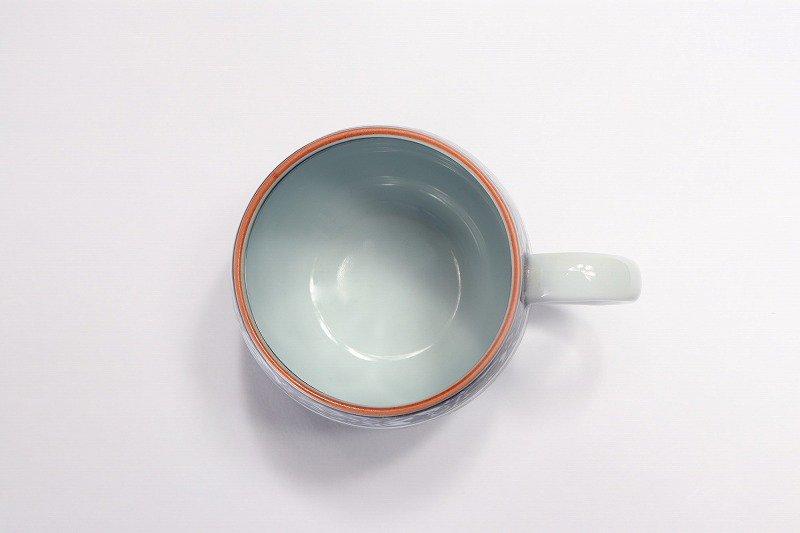 亮秀窯 染付祥瑞丸紋 丸型碗皿 画像サブ5