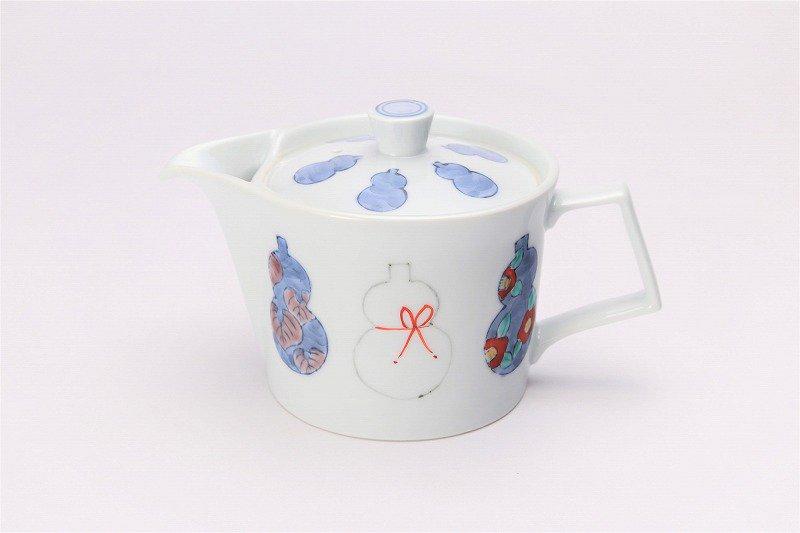 ☆徳七窯 伊万里ひょうたん 茶器セット 画像サブ1