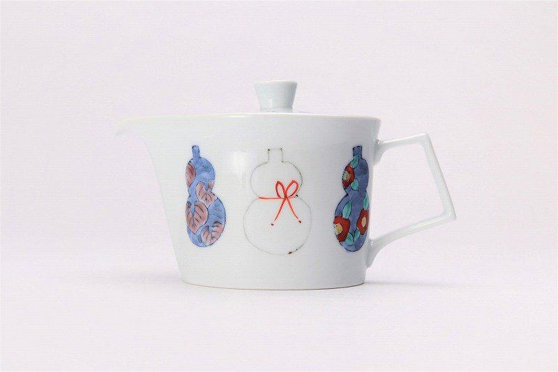 ☆徳七窯 伊万里ひょうたん 茶器セット 画像サブ2