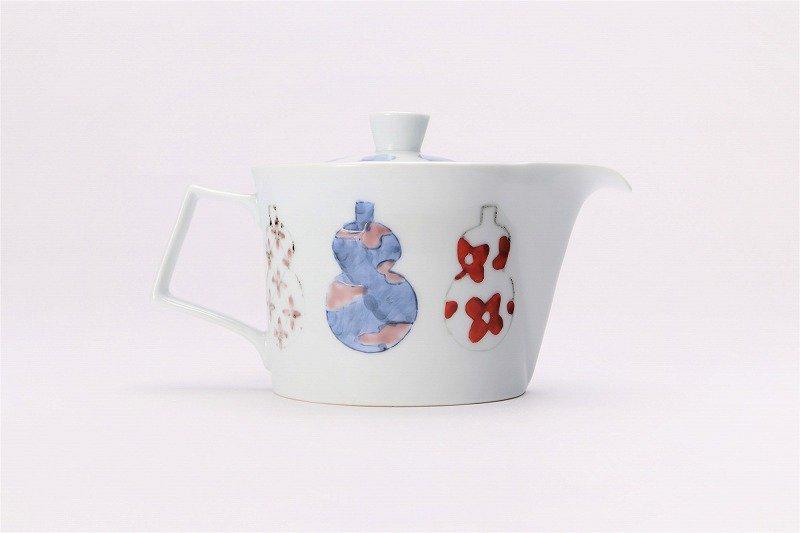 ☆徳七窯 伊万里ひょうたん 茶器セット 画像サブ3