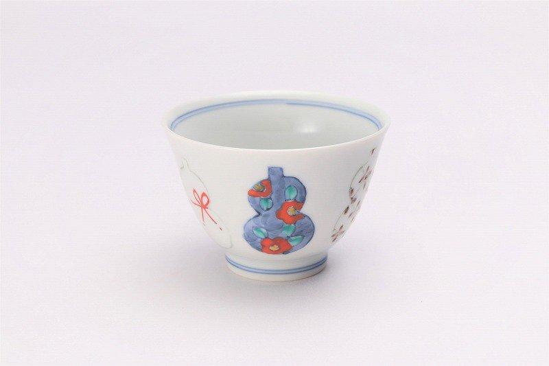 ☆徳七窯 伊万里ひょうたん 茶器セット 画像サブ4