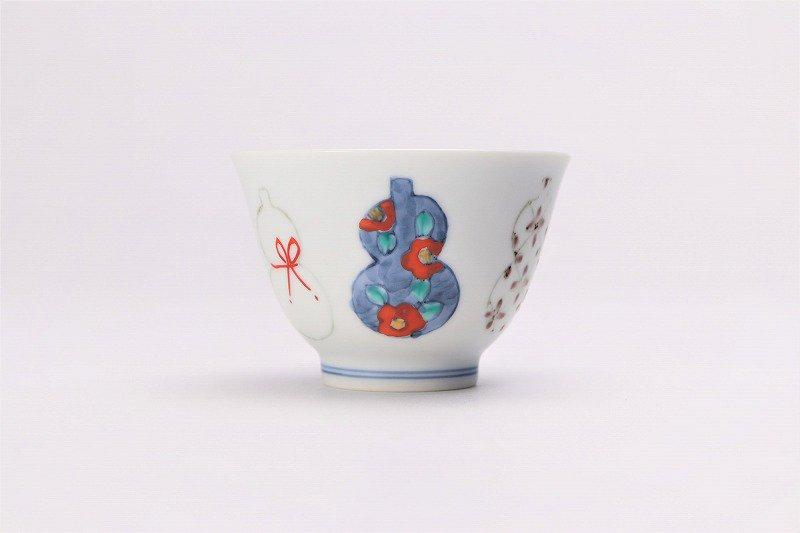☆徳七窯 伊万里ひょうたん 茶器セット 画像サブ5