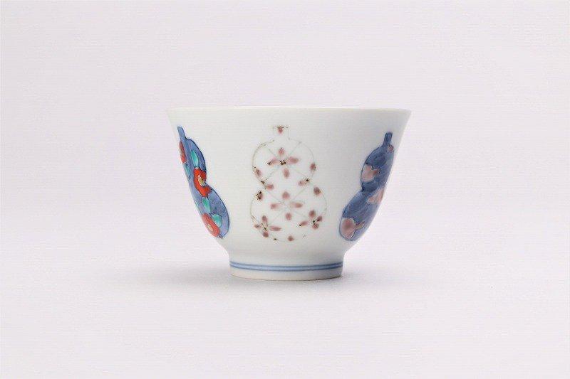 ☆徳七窯 伊万里ひょうたん 茶器セット 画像サブ6