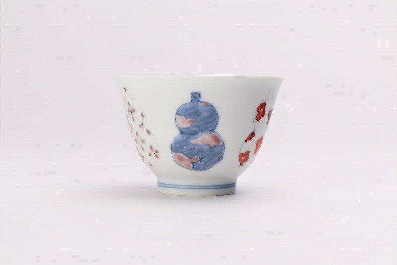 ☆徳七窯 伊万里ひょうたん 茶器セット 画像サブ7