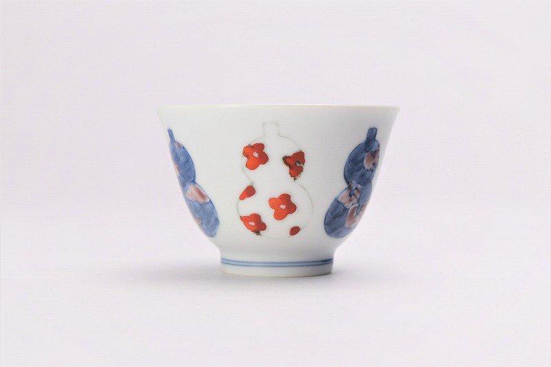 ☆徳七窯 伊万里ひょうたん 茶器セット 画像サブ8
